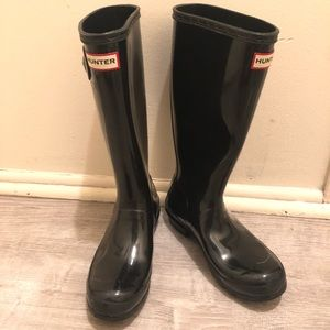 Black HUNTER boots size 37 (7)